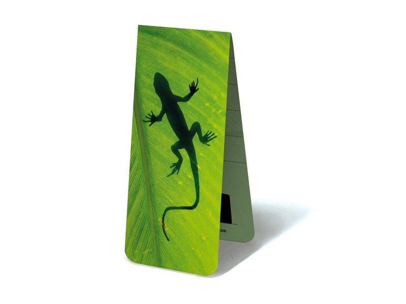 Marque-page magnétique, Gecko