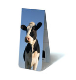 Magnetic Bookmark, Cow looking in camera
