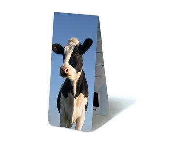 Marcador magnético, vaca mirando a la cámara