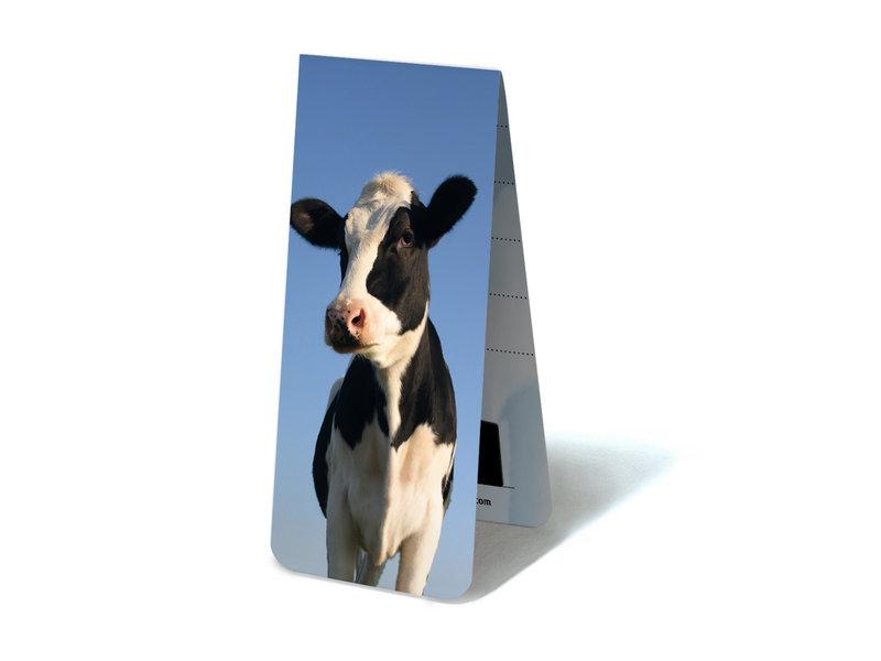 Marque-page magnétique, vache à la recherche dans l'appareil photo