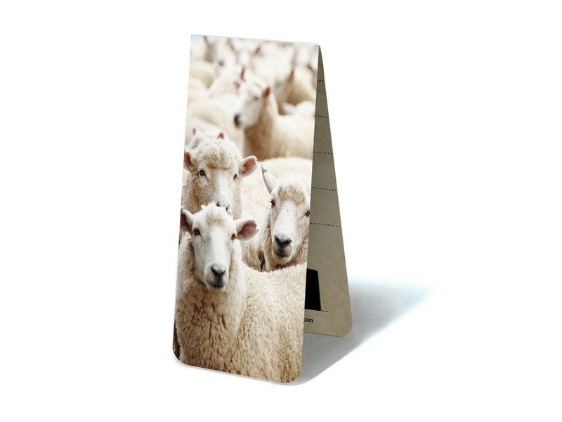 Marque-page magnétique, troupeau de moutons