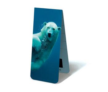 Magnetisches Lesezeichen, schwimmender Eisbär