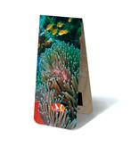 Marcador magnético, pez payaso, mar tropical