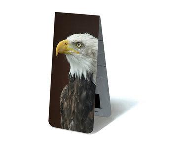 Marque-page magnétique, aigle