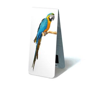Marque-page magnétique, perroquets Ara