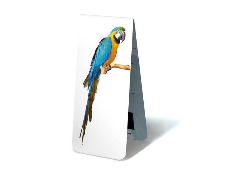 Magnetische Boekenlegger, Papegaaien Ara