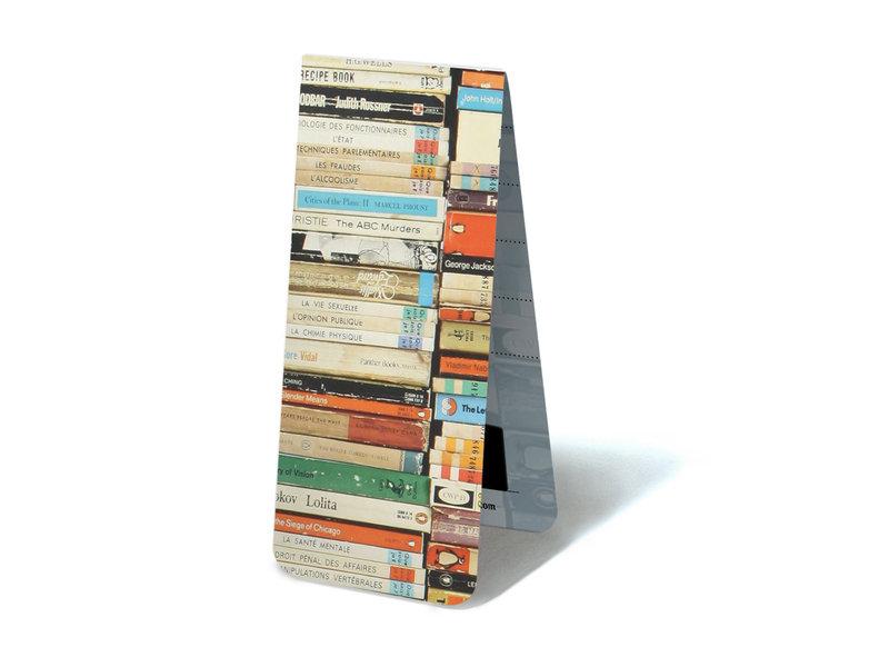 Magnetic Bookmark, Paperbacks pile