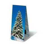 Marcador magnético, árbol nevado