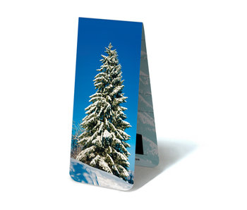 Magnetic Bookmark, Snowy tree