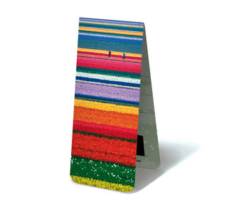Magnetic Bookmark, Dutch Tulip field