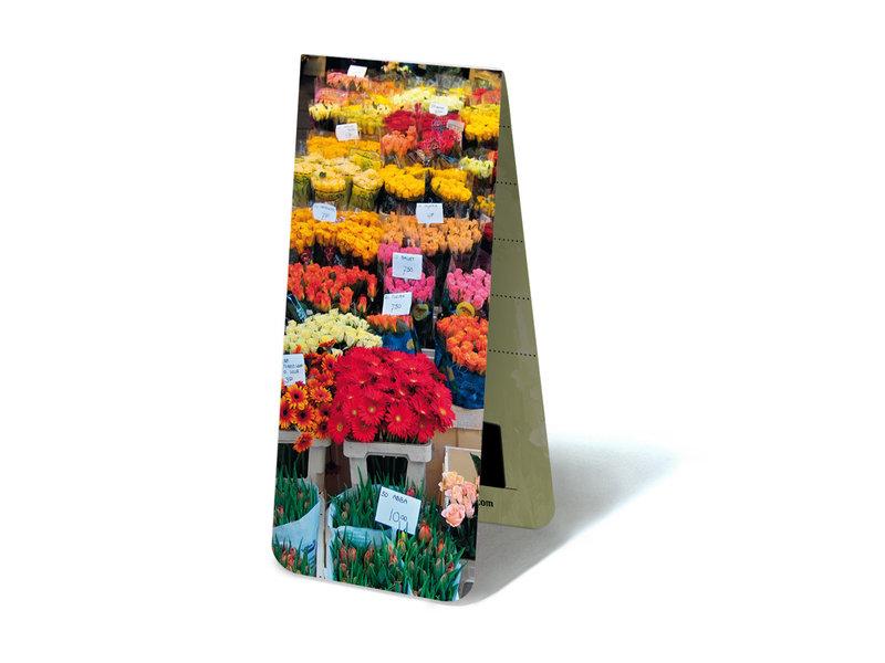 Marque-page magnétique, écurie de fleurs