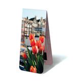 Marcapagina magnético, tulipanes en Amsterdam