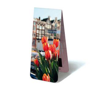Marque-page magnétique, tulipes à Amsterdam