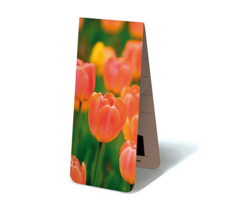 Magnetic Bookmark, Tulips light orange