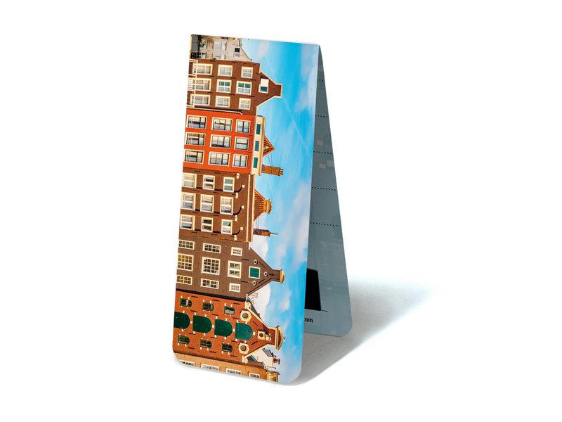 Magnetische Boekenlegger, Grachtenhuizen, details