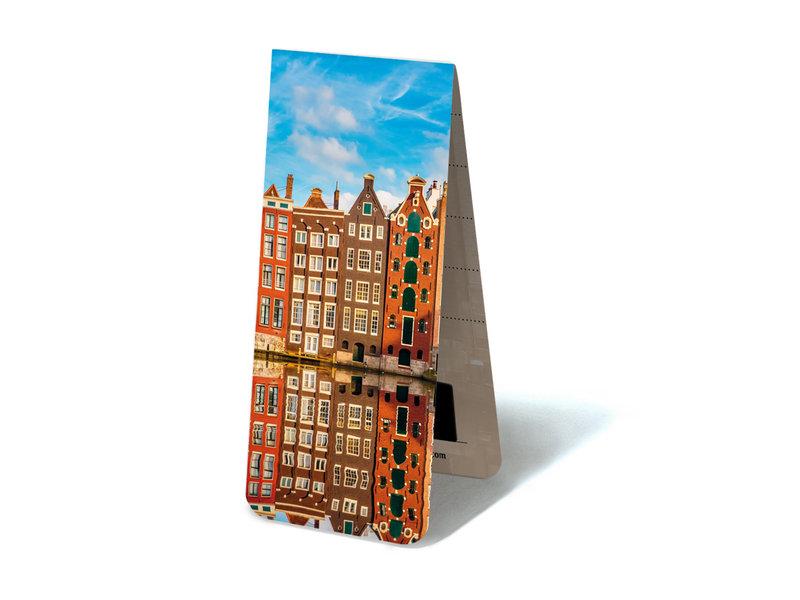 Magnetische Boekenlegger, Grachtenhuizen