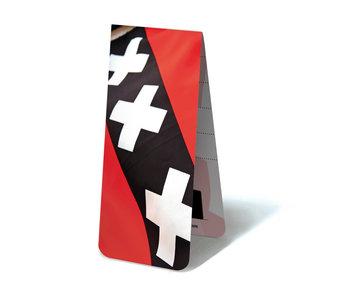 Marque-page magnétique, drapeau d'Amsterdam