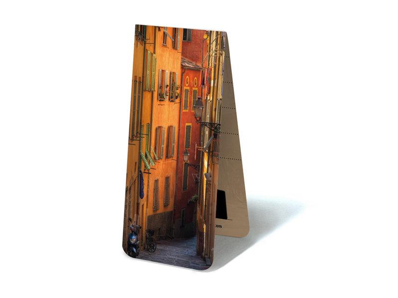 Magnetische Boekenlegger, Mediterrane straat