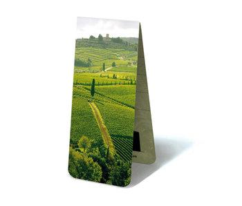 Magnetic Bookmark, Italian Fields
