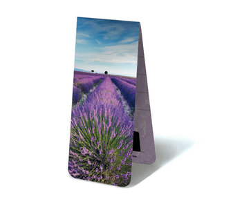 Magnetic Bookmark, Lavender field