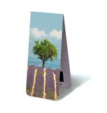 Magnetische Boekenlegger, Lavendel veld met boom