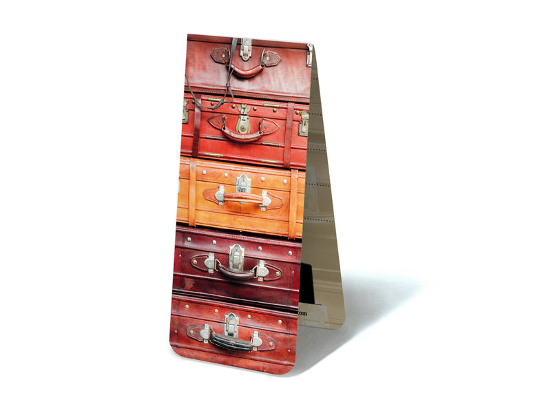 Magnetische Boekenlegger, Koffers