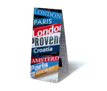 Magnetisches Lesezeichen, Reisebücher