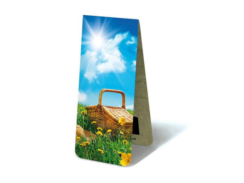 Marque-page magnétique, pique-nique d'été