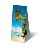 Marque-page magnétique, plage tropicale