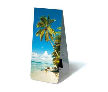 Marcador magnético, playa tropical