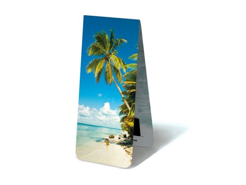 Magnetisches Lesezeichen, tropischer Strand