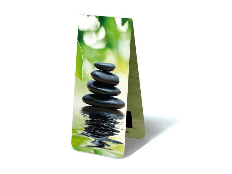 Magnetisches Lesezeichen, Steine, Zen