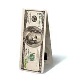 Magnetische Boekenlegger, 100 Dollar Biljet