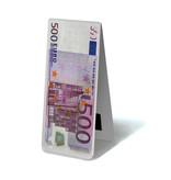 Magnetisches Lesezeichen, 500 Euro Hinweis