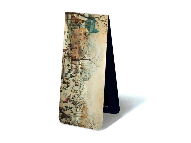 Magnetic Bookmark,  Winter Landscape, Avercamp