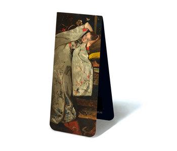 Marque-page magnétique, Breitner, fille en kimono