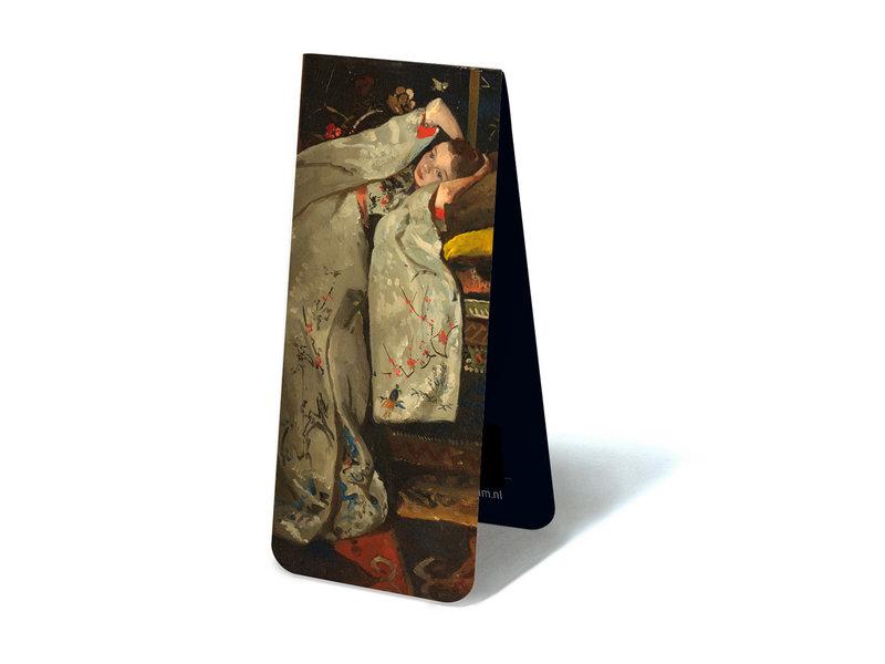 Marcador magnético, Breitner, Chica en kimono