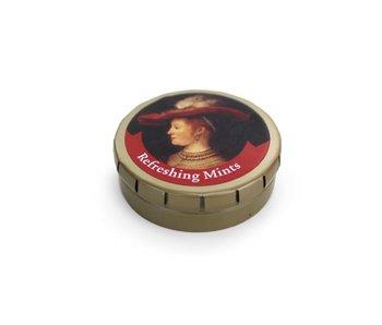 Boîte à menthes, Saskia, Rembrandt