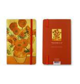 Softcover-Notizbuch, Sunflowers, 1888, Van Gogh