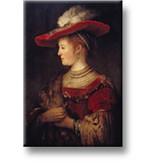 Kühlschrank magnet, Saskia, Rembrandt
