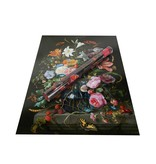 Affiche, 50x70, De Heem, Vase avec fleurs