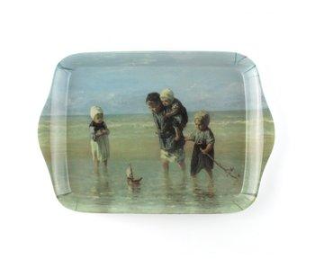 Mini bandeja, 21 x 14 cm, Niños del mar, Israëls