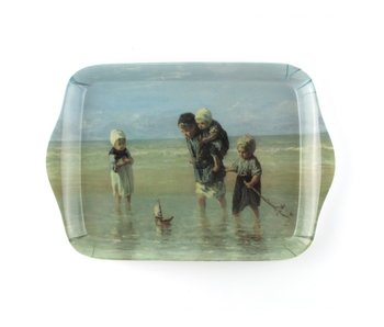 Mini tray, 21 x 14 cm, Children of the sea, Israëls