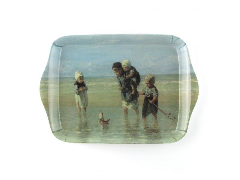 Mini plateau, 21 x 14 cm, Enfants de la mer, Israëls