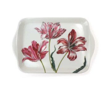 Mini tray, 21 x 14 cm, Three tulips, Merian