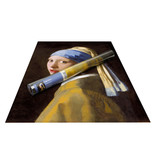 Poster, 50x70, Meisje met de parel, Vermeer