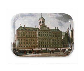 Bandeja de servicio Laminado grande, Palacio en la Presa, Berckheyde