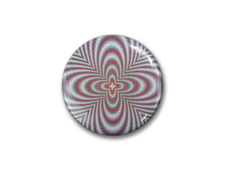Taschenspiegel, klein, Ø 60 mm, Optical Art OA 2