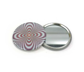 Pocket Mirror, Small, Ø 60 mm, Optical Art OA 2