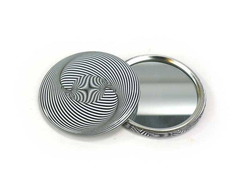 Miroir de poche, petit, Ø 60 mm, Optical Art OA 3